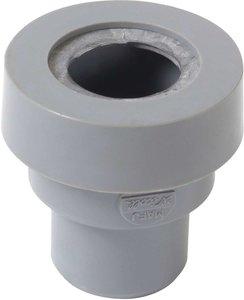 PVC overgang van 40mm lijm naar 40mm rubber