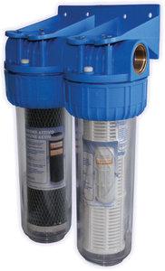 Duo regenwaterfilter 10""